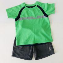 Conjunto Esportivo - Polo Ralph Lauren - Tam 3 - 3 anos - Ralph Lauren