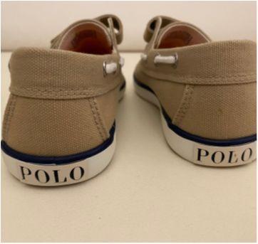Mocassim Polo Ralph Lauren - Bege - Tamanho 30 - NOVO (sem caixa) - 30 - Ralph Lauren
