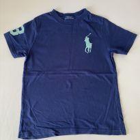 Camiseta Polo Ralph Lauren Azul - Tam 6 - 6 anos - Ralph Lauren