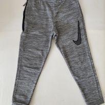 Calça Esportiva - Nike - Cinza Mesclado - tam 8 (XS) - 7 anos - Nike
