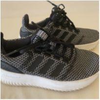 Tênis Infantil - Adidas - Branco e Preto - Tam 31 - 31 - Adidas
