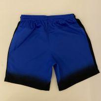 Shorts de Nylon - Dri-Fit - marca Nike - cor preta e azul - tam P - 6 anos - Nike