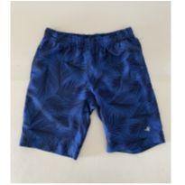Short - Brooksfield - Estampado  Azul c/ Preto -  tam 6 - 6 anos - Brooksfield Júnior