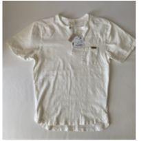 Camiseta Zara - cor Creme - tam 8 - NOVA - 8 anos - Zara