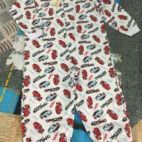 Pijama macacão super quentinho - 5 anos - Papas Wave