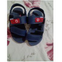Sandália azul tam 29 - 29 - Cartago