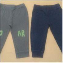 02 calças Carters levinhas e confortáveis para o dia a dia - 9 a 12 meses - Carter`s
