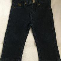 Calça Jeans Tigor - 6 a 9 meses - Tigor Baby