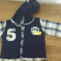 blusa moleton M novinha - 3 a 6 meses - ZigMundi
