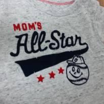 Body com camiseta OshKosh -  18M - 18 meses - OshKosh e Carter`s
