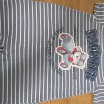 Macaquinhos Romper bebê tam 3 a 6 meses lindos (kit com 2) - 3 a 6 meses - Baby Classic