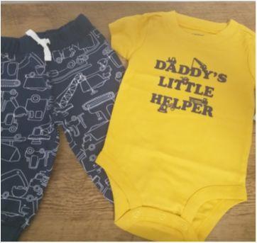 Conjunto Carters menino 6m - 6 meses - Carter`s e Old navy, Carters e Puc