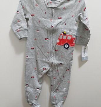 Macacão menino firetruck CARTERS TAM. 6M - 6 meses - Carter`s e carter`s, baby gap, zara