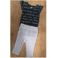 Conjunto menina 3M Carters (Calça+Body ) - 3 meses - Carter`s e CARTERS/TIPTOP/ZARA