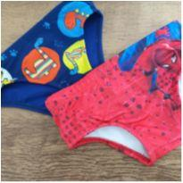 Sunga menino 2 anos kit com 2 - 2 anos - Tip Top e H&M, Carters e C&A