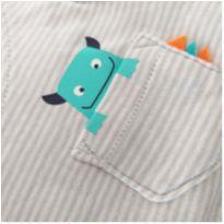 Conjunto Menino calça + body Carter´s monstrinhos 9M - 9 meses - Carter`s e carter`s, baby gap, zara