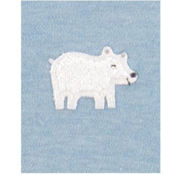 Macacão menino Carters urso Polar tam. 3m - 3 meses - Carter`s e CARTERS/TIPTOP/ZARA