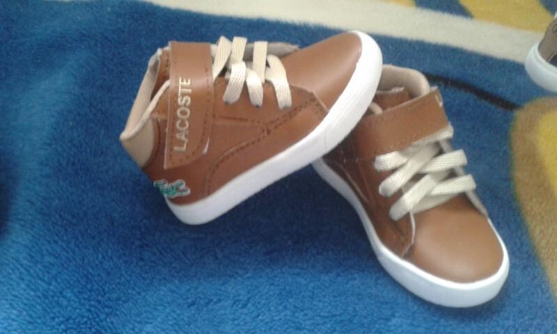 bcab9db7b57 Botinha Lacoste 20 no Ficou Pequeno - Desapegos de Sapatos quase ...