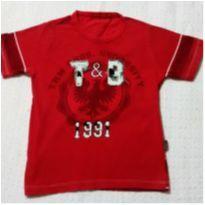 Blusa vermelha Turma da Malha - 3 anos - Turma da Malha