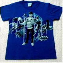 Blusa azul Max Steel - 4 anos - MaxSteel e  MXTN