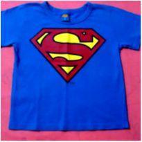 Blusa Super Homem - 4 anos - Justice League