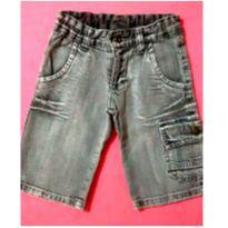 Shorts jeans cinza - 4 anos - marisa