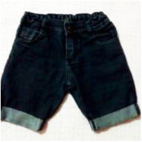 Bermuda jeans barra dobradinha - 3 anos - Gijo Kids