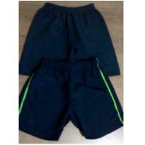 Dupla de shorts ótimos para o calor - 4 anos - Tec