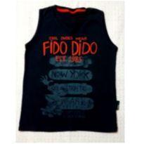 Regata azul marinho Fido Dido - 4 anos - FIDO DIDO