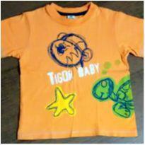 Blusa Tigor laranja - 3 anos - Tigor T.  Tigre