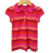camisa pólo tommy hilfiger - 3 anos - Tommy Hilfiger