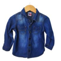 camisa jeans Tip Top - 12 a 18 meses - Tip Top