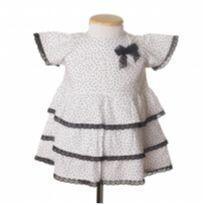 vestido branco - tyrol - 12 a 18 meses - Tyrol