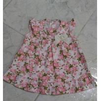 Vestido floral - 6 meses - Dayane baby