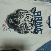 Camiseta tigre - 5 anos - Kiko