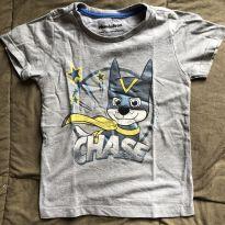 Camiseta Patrulha Canina - 3 anos - 3 anos - nickelodeon e Riachuelo