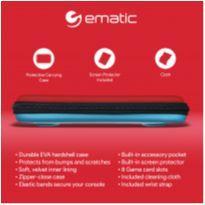 Bolsa Case Capa Nintendo Switch Lite Azul Vermelho Ematic -  - Nintendo