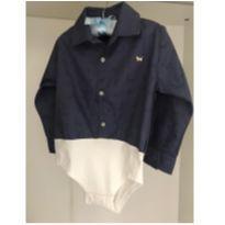 Camisa - body 1+1 - 1 ano - 1+1