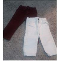 2 calças jeans - 1 ano - poll kids Riachuelo e KIDS DENIM BOYS