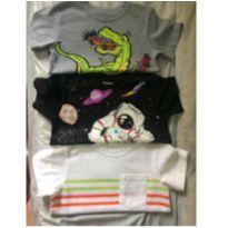 3 camisetas importadas Garanimals - 3 anos - Garanimals