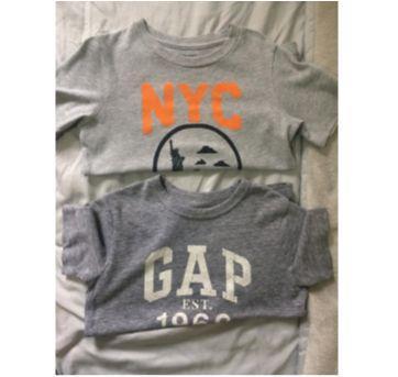 2 Camisetas Gap - 2 anos - GAP