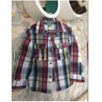 Camisa quadriculada - 3 anos - Pool Kids e riachueulo