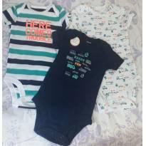 Body menino - 3 a 6 meses - Carter`s e carter`s, baby gap, zara