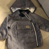Jaqueta jeans - 9 a 12 meses - Chicco