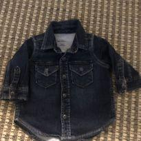 Jaqueta jeans - 3 a 6 meses - Baby Gap