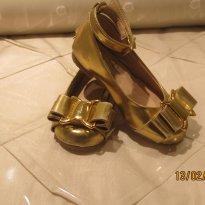 Sapato Dourado Mixed Kids - 20 - MIxed Kids