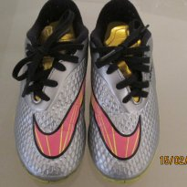 Chuteira NIKE do NEYMAR ( Prata ) - 28 - Nike