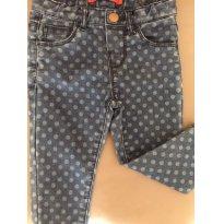 Calça Jeans ZARA ( bolinhas) - 9 a 12 meses - Zara
