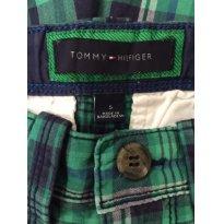 Bermuda  Xadrez Tommy Hilfigher - 5 anos - Tommy Hilfiger