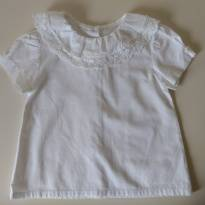 Camisa Gola Delicada -  SILMARA - 1 ano - Silmara